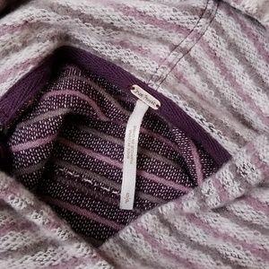 Free People Sweaters - Free People Distressed Beach Hoodie Sweater Vest